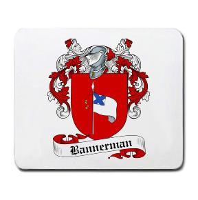 Bannerman Coat of Arms Mouse Pad