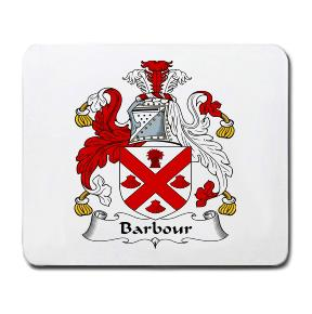 Barbour Coat of Arms Mouse Pad