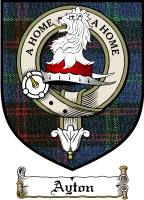 Ayton Clan Badge / Tartan FREE preview