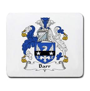 Barr Coat of Arms Mouse Pad