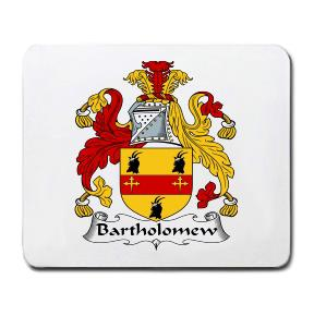 Bartholomew Coat of Arms Mouse Pad