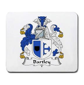 Bartley Coat of Arms Mouse Pad