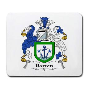 Barton Coat of Arms Mouse Pad