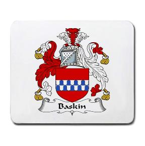 Baskin Coat of Arms Mouse Pad