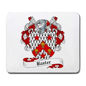 Baxter Coat of Arms Mouse Pad
