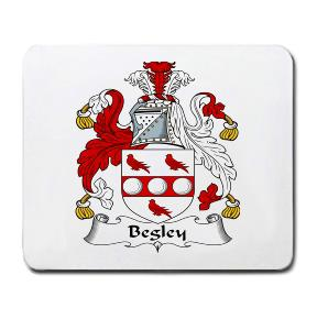 Begley Coat of Arms Mouse Pad