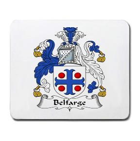Belfarge Coat of Arms Mouse Pad