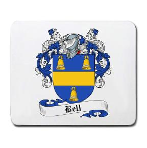 Bell Coat of Arms Mouse Pad