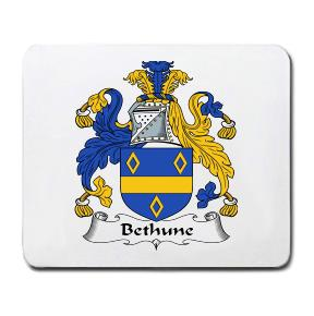Bethune Coat of Arms Mouse Pad