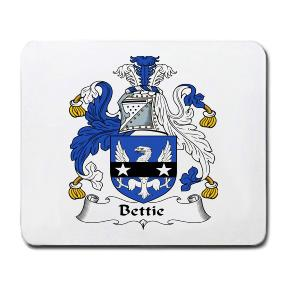 Bettie Coat of Arms Mouse Pad