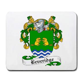 Beveridge Coat of Arms Mouse Pad