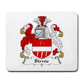 Birnie Coat of Arms Mouse Pad