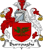 Burroughs Family Crest / Burroughs Coat of Arms JPG Download