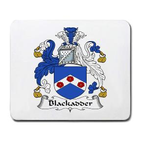 Blackadder Coat of Arms Mouse Pad
