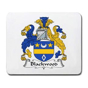 Blackwood Coat of Arms Mouse Pad