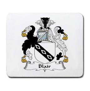 Blair Coat of Arms Mouse Pad