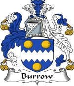 Burrow Family Crest / Burrow Coat of Arms JPG Download