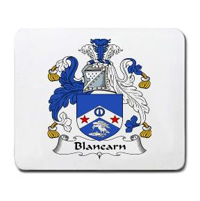 Blanearn Coat of Arms Mouse Pad