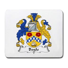 Bogle Coat of Arms Mouse Pad