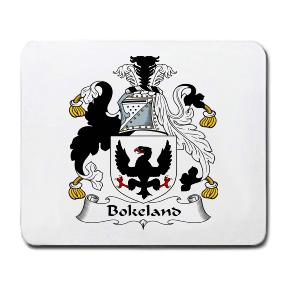 Bokeland Coat of Arms Mouse Pad