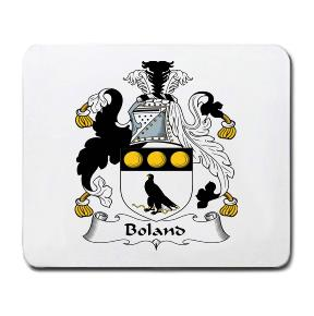 Boland Coat of Arms Mouse Pad