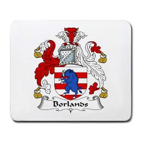 Borlands Coat of Arms Mouse Pad