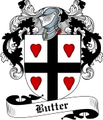 Butter Family Crest / Butter Coat of Arms JPG Download