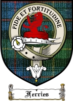 Ferries Clan Fergusson Clan Badge / Tartan FREE preview
