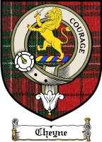 Cheyne Clan Sutherland Clan Badge / Tartan FREE preview