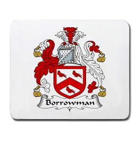 Borrowman Coat of Arms Mouse Pad