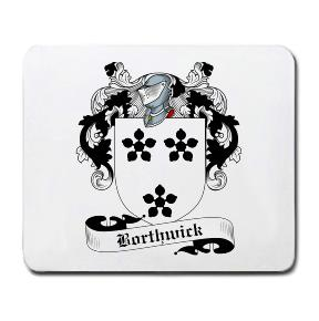 Borthwick Coat of Arms Mouse Pad