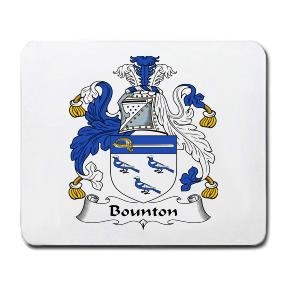 Bounton Coat of Arms Mouse Pad