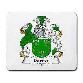 Bower Coat of Arms Mouse Pad