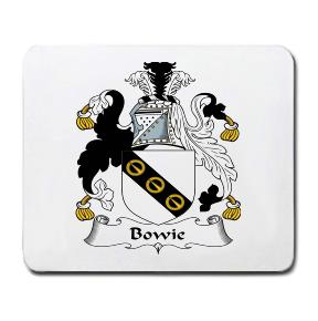 Bowie Coat of Arms Mouse Pad