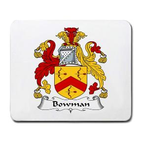 Bowman Coat of Arms Mouse Pad