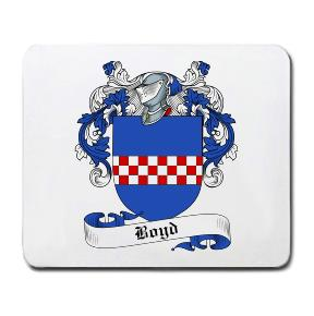 Boyd Coat of Arms Mouse Pad