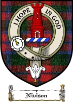 Nivison Clan Badge / Tartan FREE preview