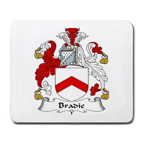 Bradie Coat of Arms Mouse Pad