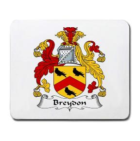 Breydon Coat of Arms Mouse Pad