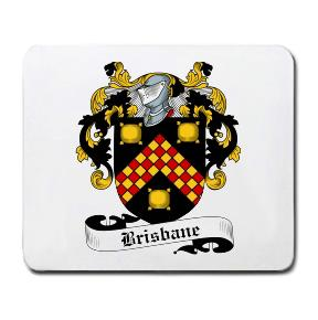 Brisbane Coat of Arms Mouse Pad