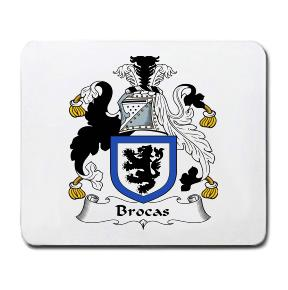 Brocas Coat of Arms Mouse Pad