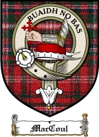 Maccoul Clan Badge / Tartan FREE preview