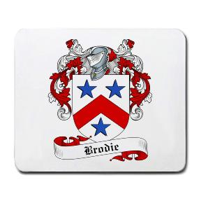 Brodie Coat of Arms Mouse Pad