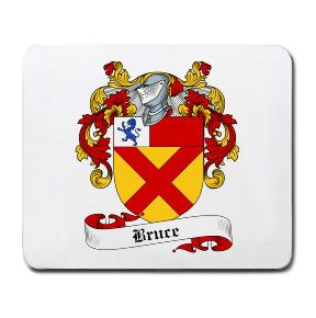 Bruce Coat of Arms Mouse Pad