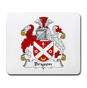 Bryson Coat of Arms Mouse Pad