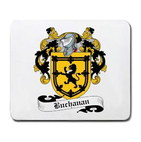 Buchanan Coat of Arms Mouse Pad