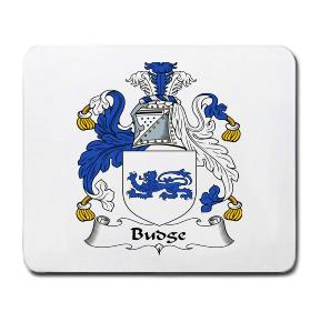 Budge Coat of Arms Mouse Pad