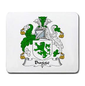 Bugge Coat of Arms Mouse Pad