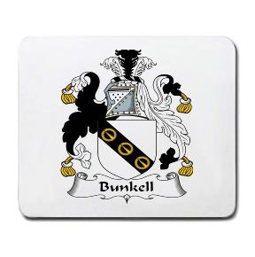 Bunkell Coat of Arms Mouse Pad