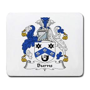 Burns Coat of Arms Mouse Pad